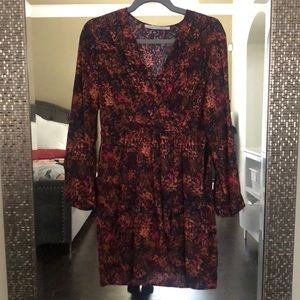 Collective concepts long sleeve dress sz small